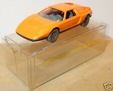 MICRO WIKING HO 1/87 MERCEDES C111 ORANGE TENTATIVE IN BOX