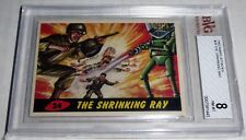 1962 Mars Attacks The Shrinking Ray Card #24 BVG 8 Like PSA BGS UFO Alien War