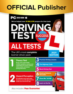 Driving Test Success All Tests PC 2021 Edition (PC Disk)