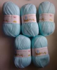 Job Lot James C Brett Baby 4 Ply Knitting Yarn, 500g, Light Blue *FREE POSTAGE*