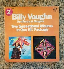 BILLY VAUGHN ORCHESTRA & SINGERS DOUBLE LP, PICKWICK/DOT RECORDS PTP-2036. 1960s