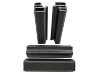 Jeep Wrangler TJ LJ Unlimited Soft Top Tailgate Bar Pads Sleeves 1997-2006