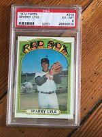 1972 Topps Sparky Lyle #259 PSA 6