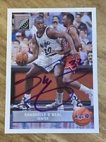 Shaquille O'neal autographed 1992-93 UPPER DECK #43 (McDonalds) FUTURE FORCE