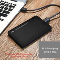 """USB 3.0 a 2.5"""" SATA HDD Box Case Scatola Esterno Per SSD Hard Disk Drive"""