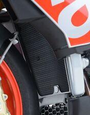 Aprilia V4 Tuono 1100 2017 R&G Racing Radiator Guard RAD0192TI Titanium