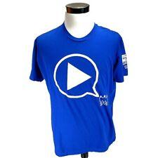 Universal Studio Crew Neck Short sleeve Tee-shirt Blue Man Group Sz XL Blue