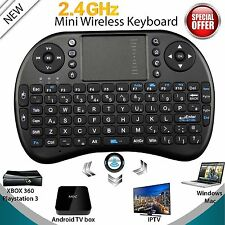 Mini Wireless Keyboard 2.4G with Touchpad Handheld Keyboard for PC Android TV SM