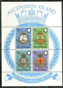 Ascension  1973   Scott # 169a   Mint Never Hinged Souvenir Sheet