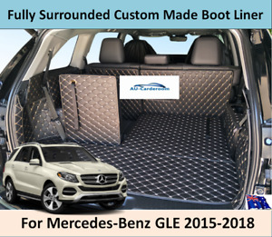 For Mercedes-Benz GLE W166 2015-2018 Custom Made Cargo Trunk Mats Boot Liner