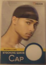 Two Maxim Classic Stocking Wave-Caps Size one size fit all Color White