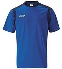 (XL) Umbro Mens Royal Dark Navy Traing Jersey.(crew Neck T Shirt)