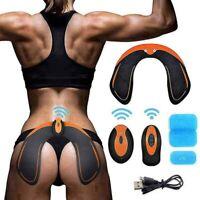 MATEHOM Hips Trainer Electroestimulador EMS Vibration Massage Gluteos y Caderas