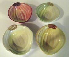 Williams Sonoma Set Of Four Small Dishes Vegetable Theme EUC
