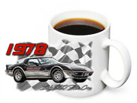 1978 Chevrolet Corvette Indy 500 Pace Car Design 11oz. Ceramic Coffee Mug