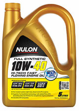 Box Of 3 Nulon Full Synthetic Hi-Tech Engine Oil 10W40 5L SYN10W40-5