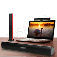 Portable Laptop /Computer/PC Speaker Subwoofer USB Soundbar Sound Bar Black