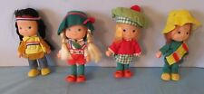 4 1982 Remco Co. Around The World In 80 Dolls / Usa, Germany, Mexico & Ireland