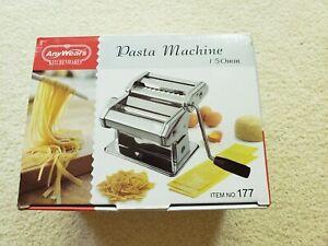 anywears kitchen wares pasta machine 150mm item number 177, spaghetti, lasagna