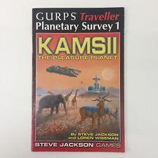 Steve Jackson Games GURPS viajero encuesta 1 kamsii placer planeta Planetario