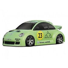 VW BEETLE CUP RACER BODY (WB140mm) - clear - Micro RS4 7607 HPI