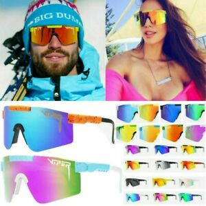 PIT VIPER Polarized Cycling Glasses UV400 Outdoor Sports Goggles Eyewear Bicycle