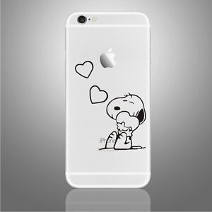 Snoopy Sticker Viny Decal for iPhoneX,5,5s,5SE,6,6Plus,6s,6sPlus,7,7Plus,8,8Plus