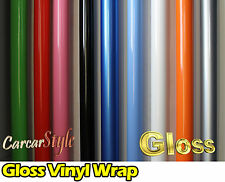 【GLOSS】Vehicle Wrap Vinyl Sticker 【1.52Meter width】 Large Size Air /bubble Free