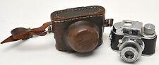 Vintage Toko Tone Miniture Camera w/Case & Anastigmat 25mm Lens