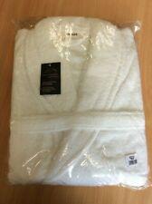 Albert gliana spa bath robe uni size & uni sex in white