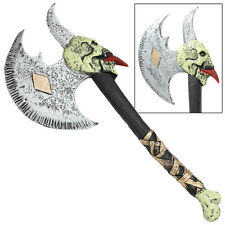 Norse Legendary Berserker Psycho Battle War Foam Costume Cosplay LARP Toy Axe