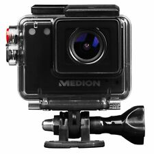 MEDION S89038 WLAN Action Camcorder wasserdicht Full HD 5MP CMOS Sensor microSD