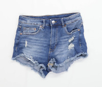 Womens H&M Blue Denim Shorts Size 10/L3