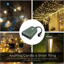 Waterproof Outdoor Wifi Smart Plug with 3 Outlets Compatible with Alexa & Google