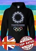 Tokyo 2020 Games Olympics Emblem Hoodie Sweatshirt Jumper Men Women Unisex 2934