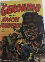 Golden Age Geronimo and his Apache Murderers #3 Vintage Comic Native American