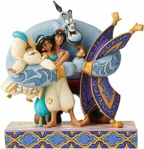 Group Hug (Aladdin) Disney Traditions Figurine