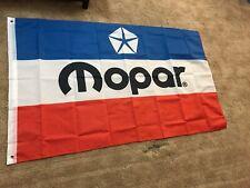 Mopar 3x5' Flag banner Garage Gift Man Cave Wall Art Free Shipping!