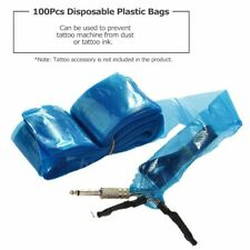 100PCS Disposable Tattoo Clip Cord Sleeves Hygiene Machine Plastic Cover Bag HOT