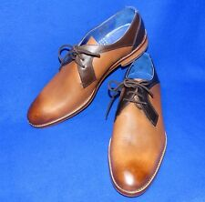 NEW 13 M TED BAKER FUSSEL ANTQ BROWN TAN OXFORD MENS SHOES