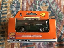 Matchbox #2 Jaguar XK8 1:64 Scale Mattel Wheels NEW MINT IN BOX UNOPENED