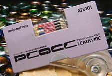 PETIT FIL CELLULE AUDIO TECHNICA AT 6101 PERFECT CRYSTAL OCC BRAS PLATINE VINYLE