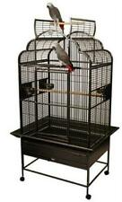 New listing Yml 1924-4924Blk 1.25 in. Small Open Play Top Parrot Bird Cage Black