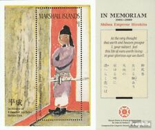 Marshall-Islands block4 unmounted mint / never hinged 1989 Japanischer Emperor H