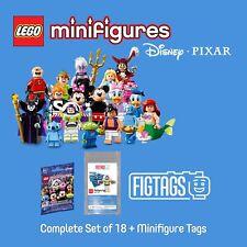 LEGO 71012 Minifigures Disney Series + FIGTAGS Minifigure Tags Bundle