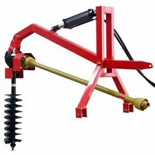 """Post Hole Digger with Hyd.Down Force 12"""" Auger CAT1 Part No. RPHD50HY-12"""