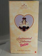 1997 Sentimental Valentine Barbie Doll Hallmark Special Edition Collectible Lib