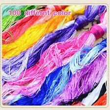 Hand Embroidery Threads Cross Stitching Dyed Yarn For Weaving Knitting Handcraft