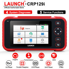 LAUNCH X431 CRP129i OBD2 Code Reader Scanner ABS SRS AT Brake Oil SAS TMPS Reset
