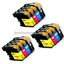 12Pk New LC-203XL LC203 Ink Cartridges For Brother MFC-J460DW -J4420DW -J5520DW